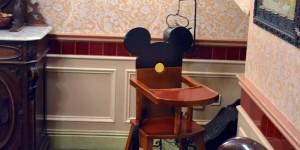 Kindersitz mit Mickymaus-Ohren