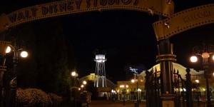 Disneyland im Dunkeln
