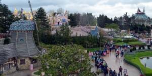Ausblick auf das Disneyland