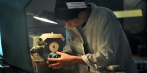 Arbeiter in der Jadefabrik