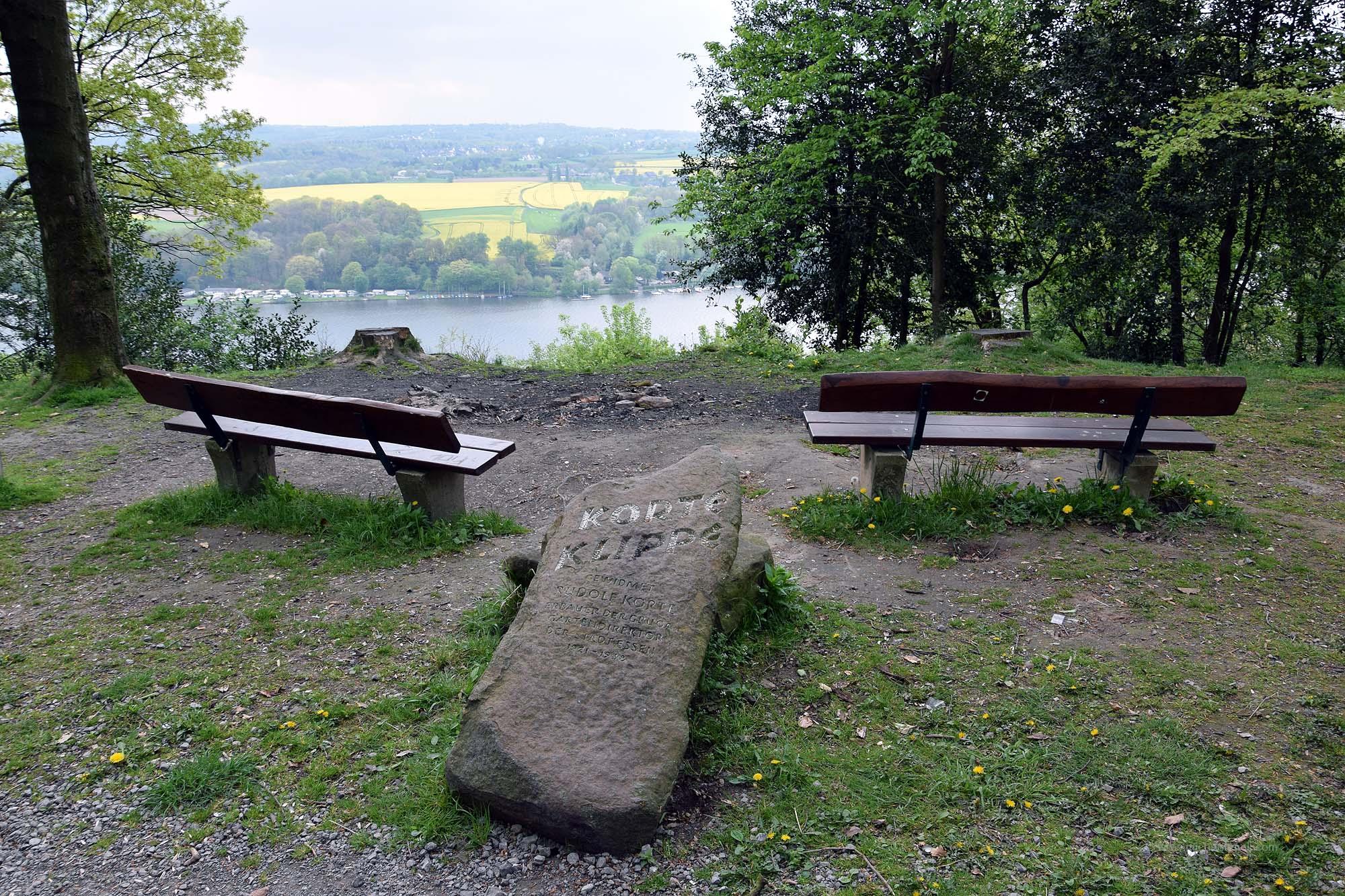 Korte Klippe im Schellenberger Wald