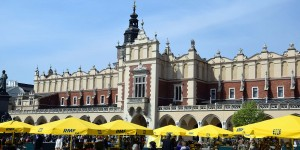 Tuchhallen in Krakau