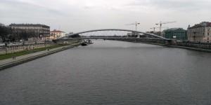 Weichsel in Krakau