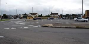 Der Kreisverkehr in Swindon