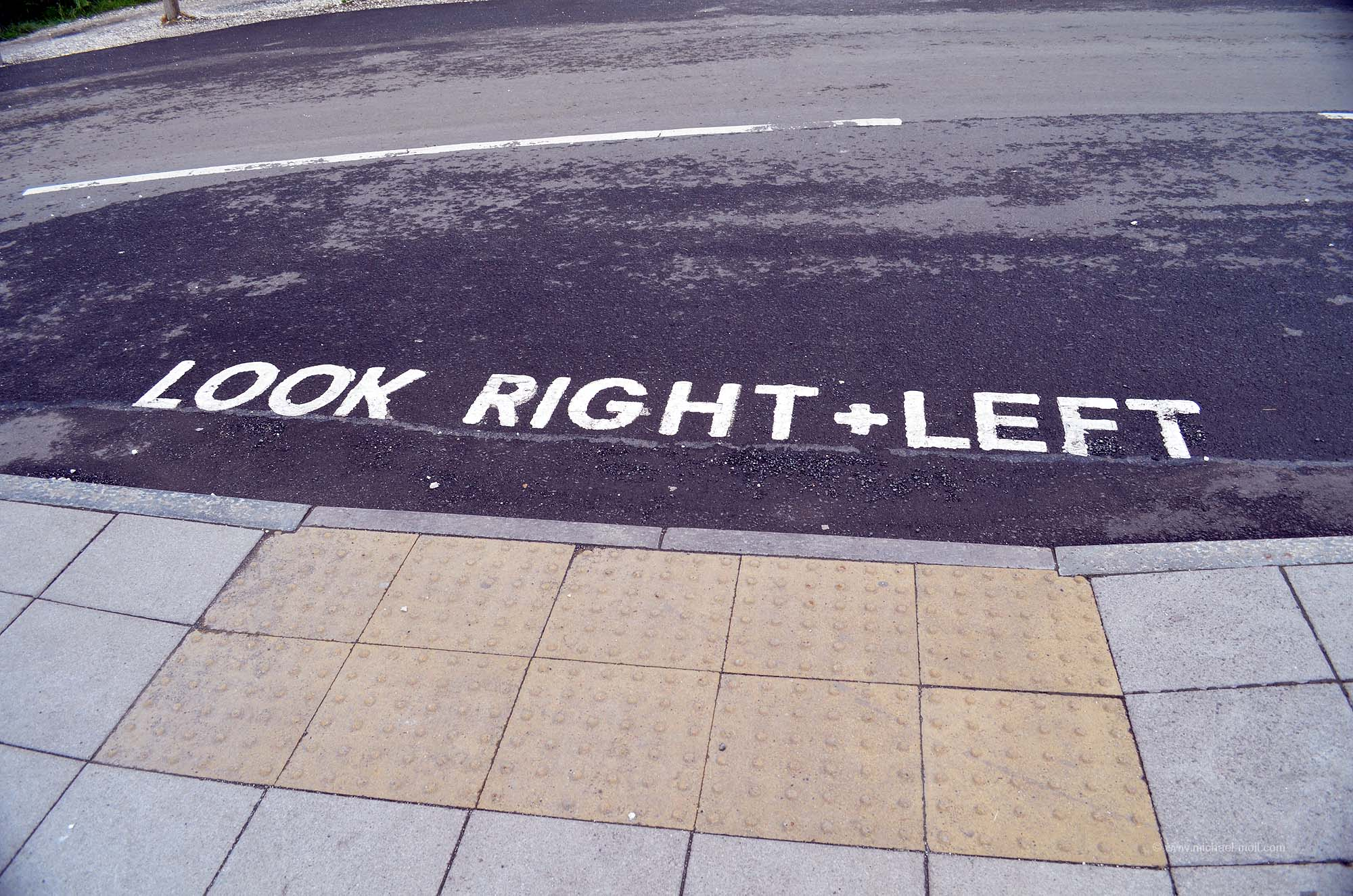 Natürlich nach rechts und links gucken