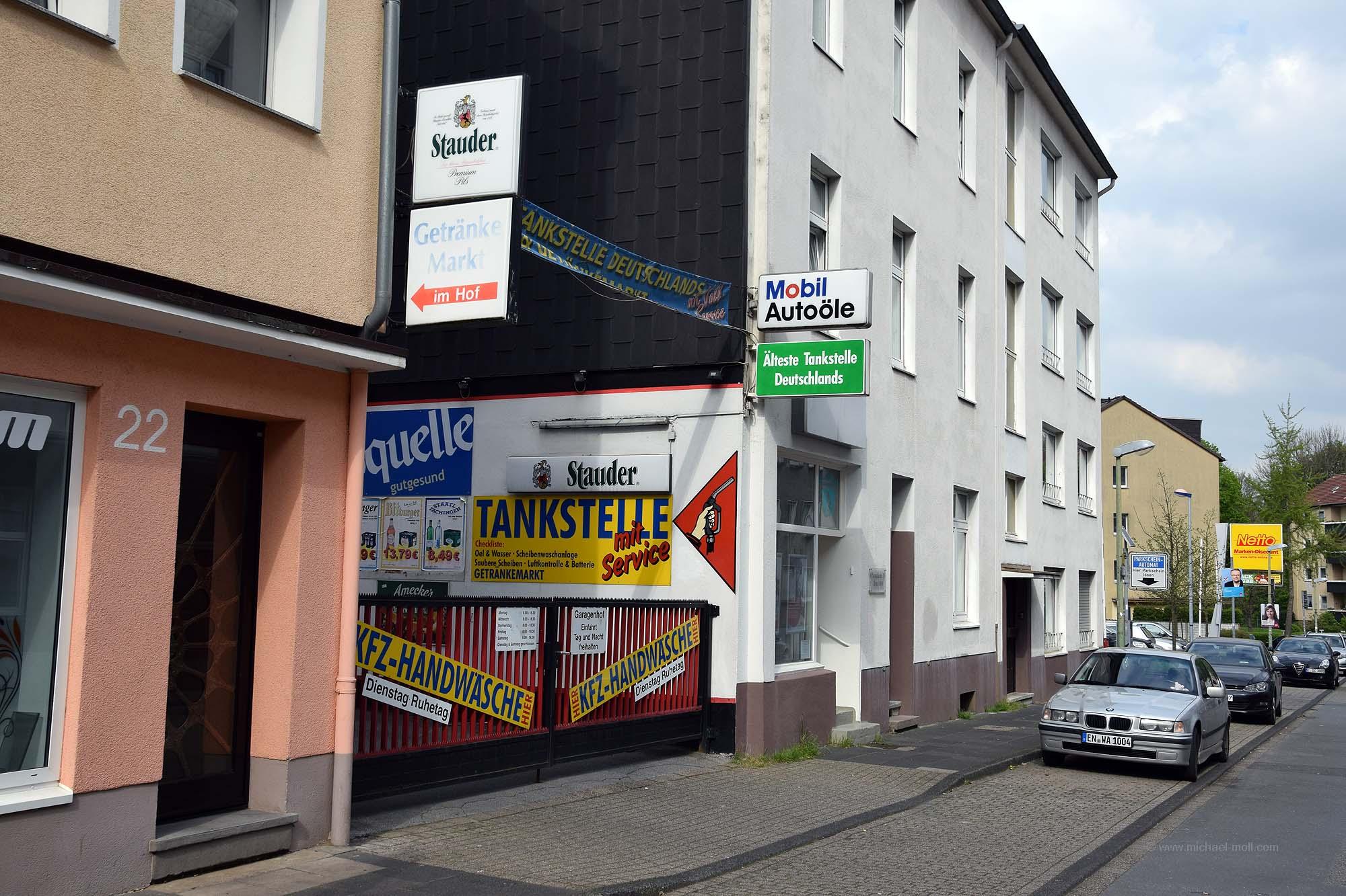 Die Gemarkenstraße in Essen-Holsterhausen