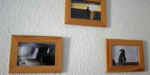 Bilder im Holzrahmen
