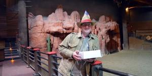 Geburtstagskuchen im Disneyland