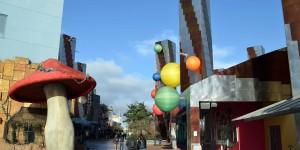Disney Village am frühen Morgen