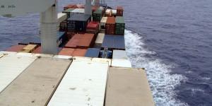 Frachtschiffreise über den Atlantik