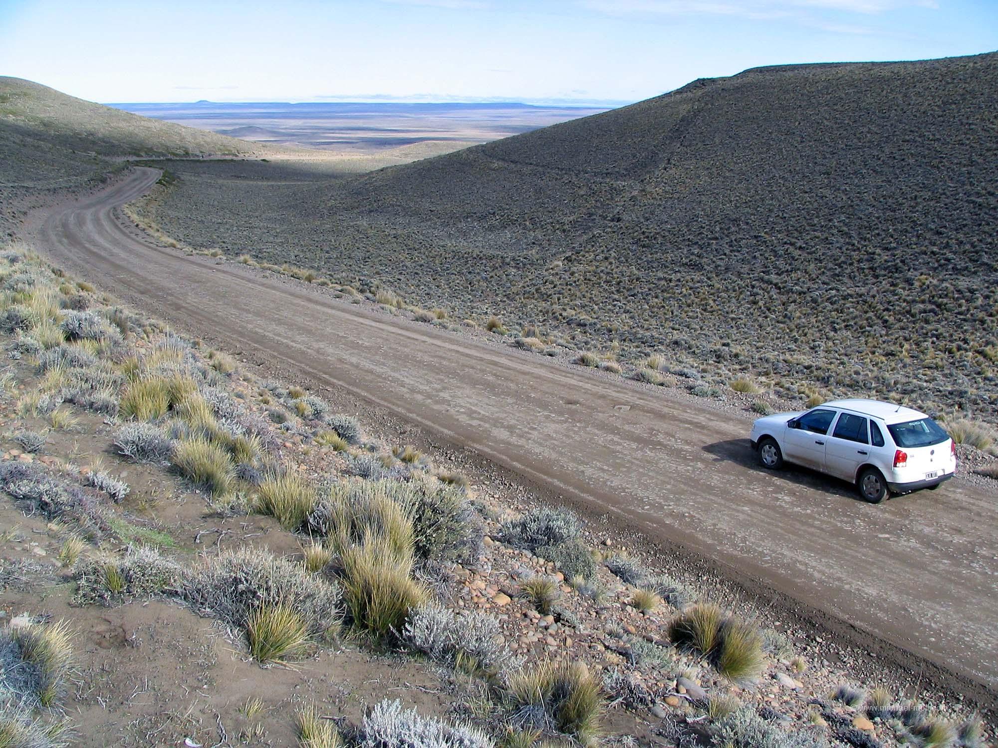Mietwagen in Patagonien