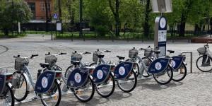 Mietfahrräder in Krakau