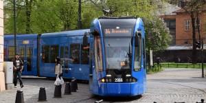 Straßenbahn in Krakau