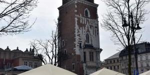 Rathausturm auf dem Marktplatz