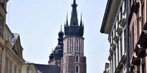 Unterschiedliche Türme der Marienkirche