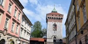 Florianska-Turm am Ende der Altstadt