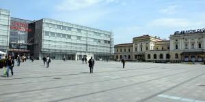 Bahnhof Krakau mit Einkaufszentrum