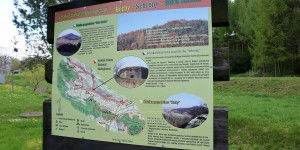 Wanderwege im Karpatenvorland