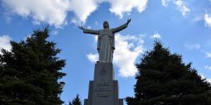 Polnische Christus-Figur