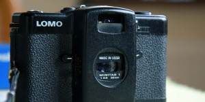 Alte sowjetische Lomo-Kamera