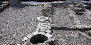 Überreste der Burgkapelle