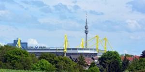 Ausblick bis zum Signald-Iduna-Park und zum Florian