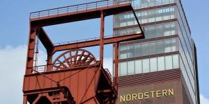 Förderturm der Zeche Nordstern