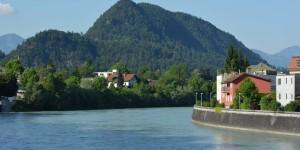 Der Inn in Kufstein