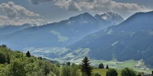 Ausblick vom Pass Thurn