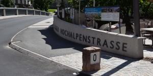 Kilometer Null der Grossglocknerstrasse