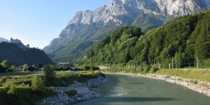 Alpen südlich von Salzburg
