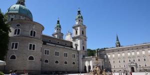 Residenzplatz in Salzburg