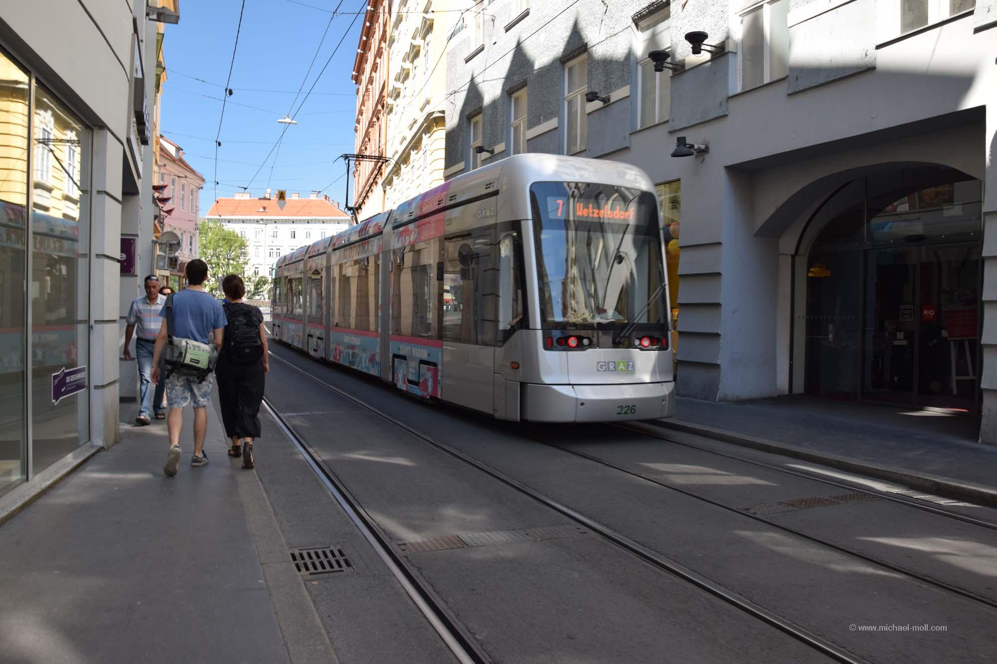 Straßenbahn in Graz | Die Weltenbummler