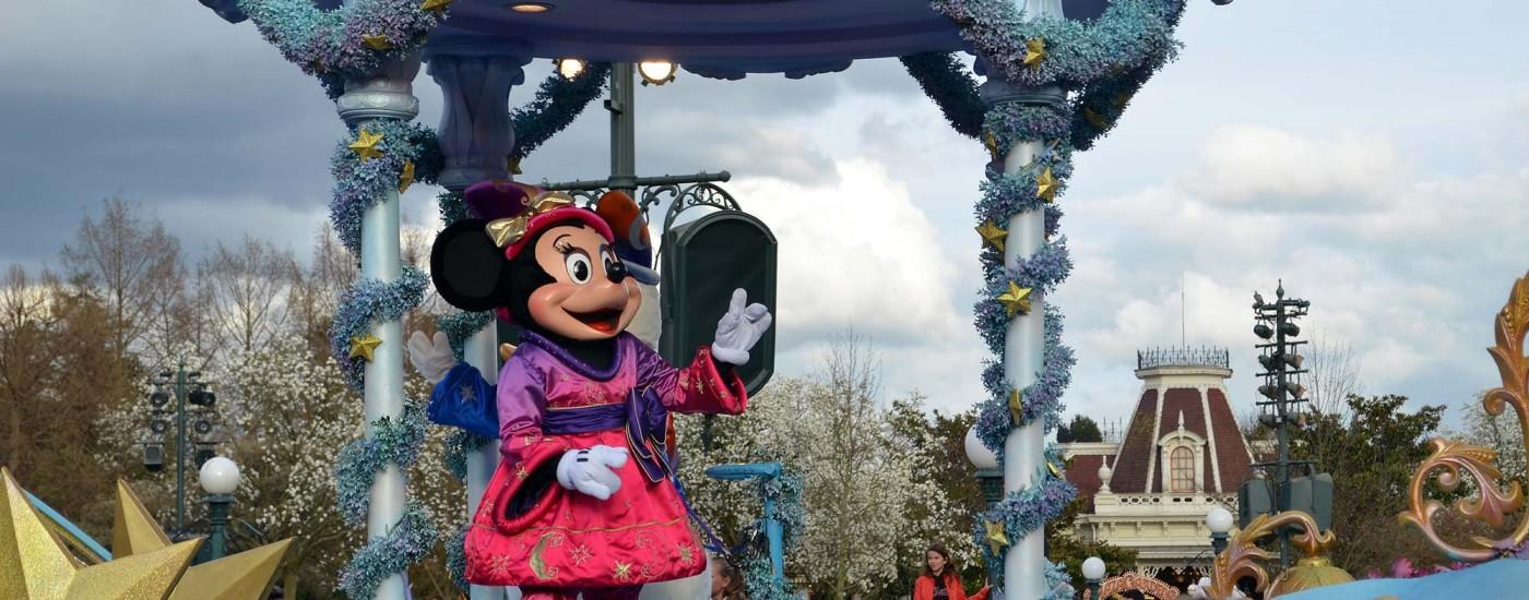 Minnie während der Parade