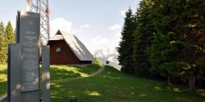 Sicht nach Slowenien