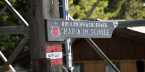 Wanderweg am Dreiländereck
