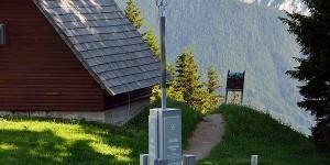 Dreiländereck Slowenien Italien und Österreich