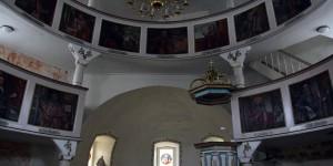 Rundkirche von innen