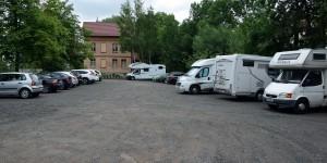 Wohnmobilstellplatz in Eisenach