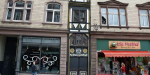 Schmales Haus in Eisenach
