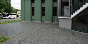 Ehemaliges Straßenbahndepot in Eisenach