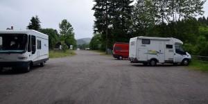 Stellplatz bei Tambach-Dietharz