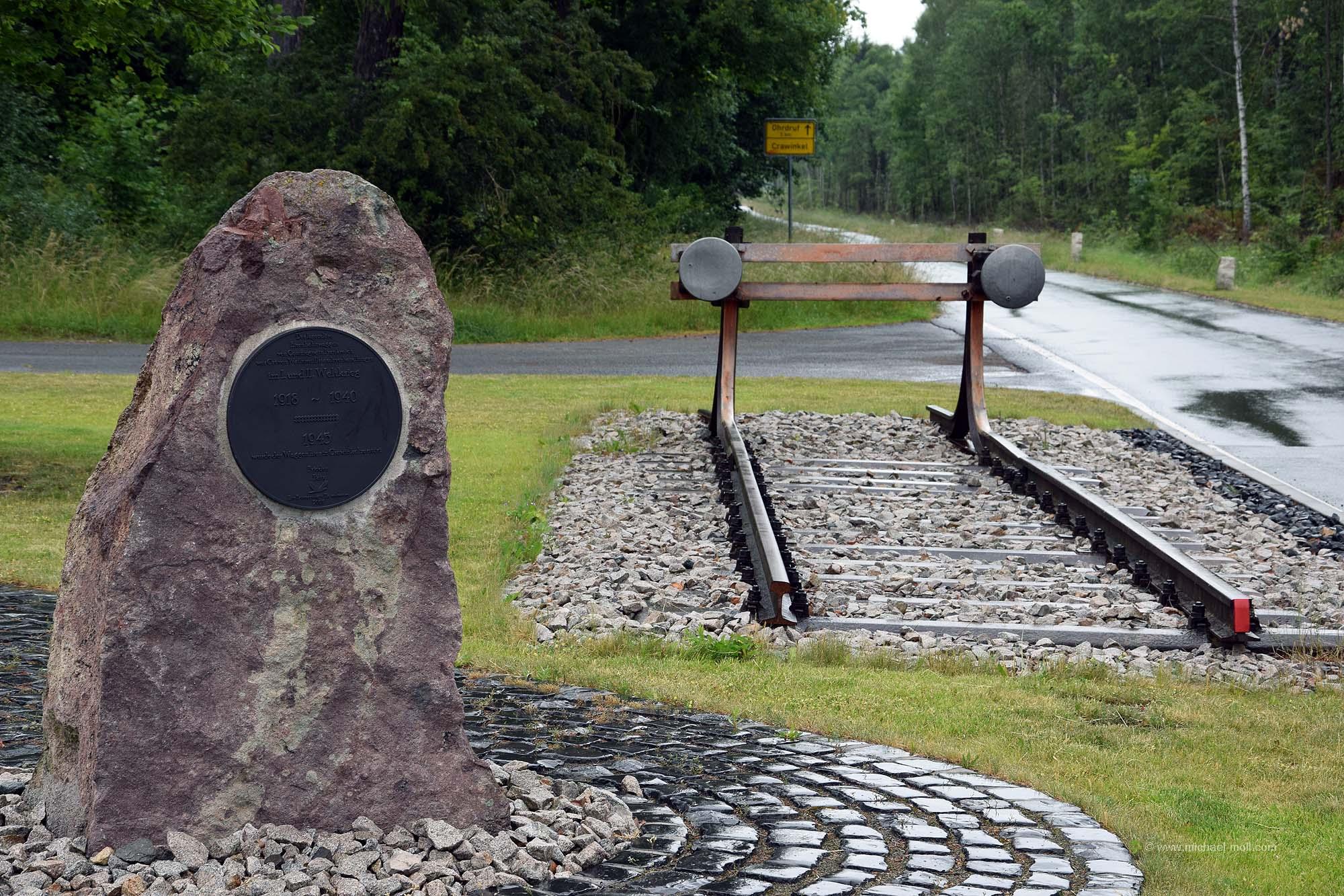 Gedenkstein für den Wagen von Compiegne
