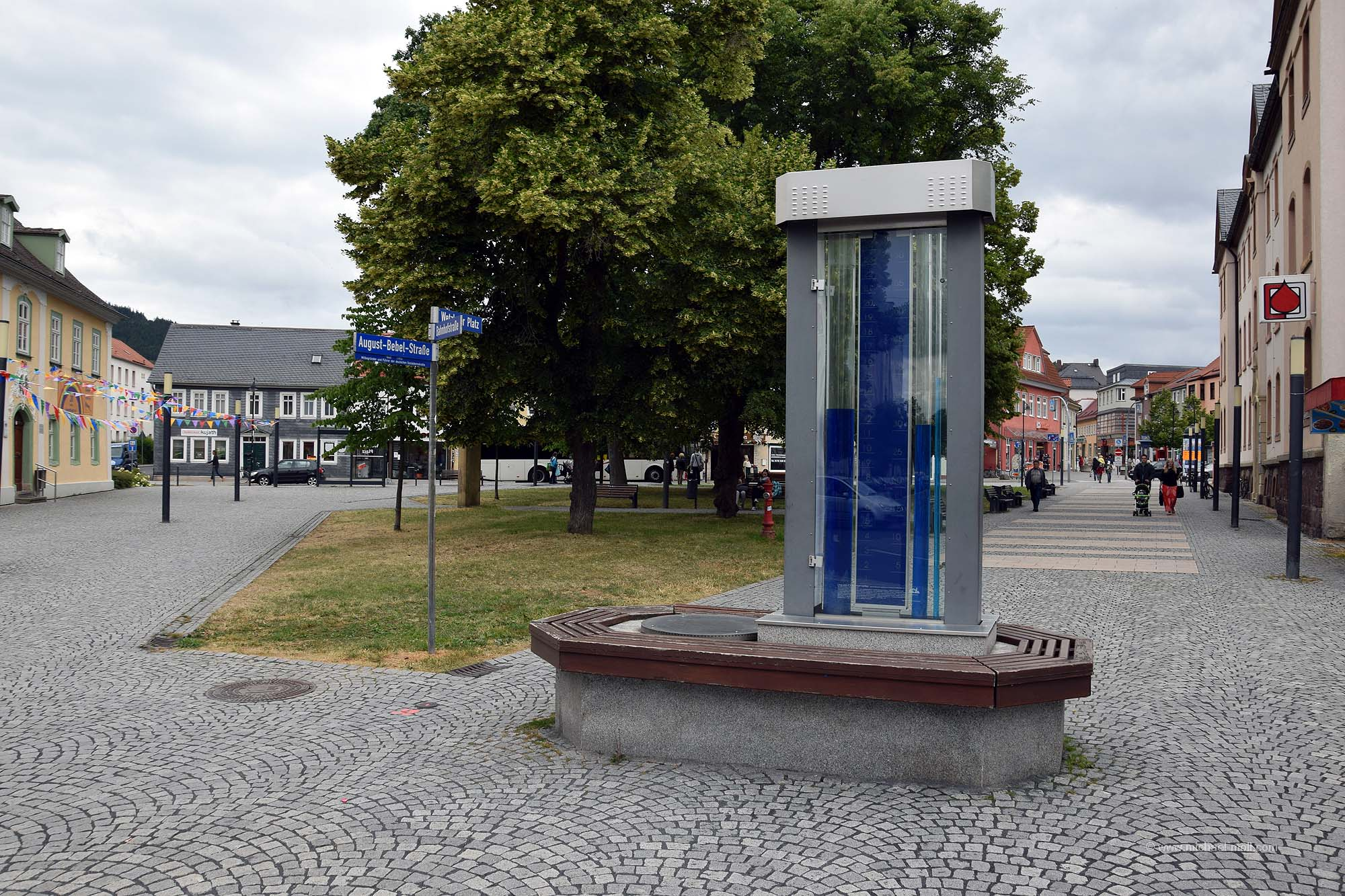 Liquid-Chronometer in Ilmenau