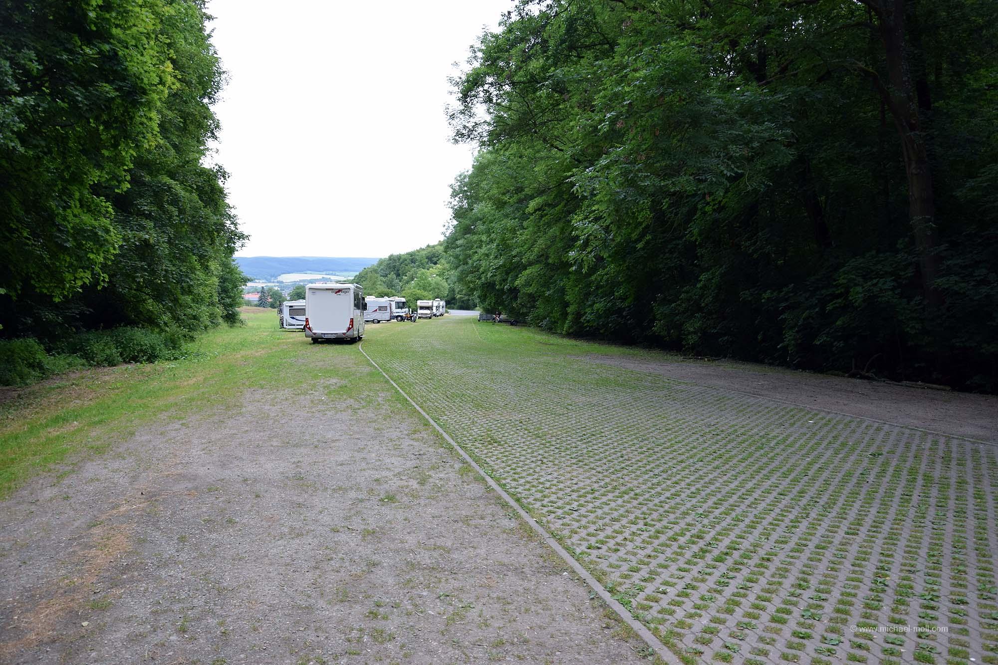 Zweiter Stellplatz in Saalfeld