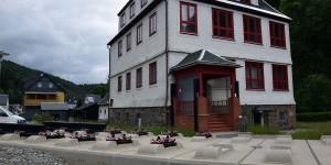 Bahninfozentrum in Goldisthal