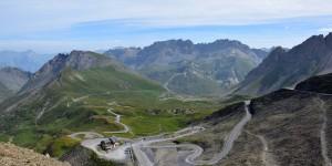 Blick vom Col du Galibier nach Norden