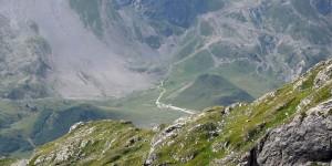 Stellplatz weiter unten auf dem Col du Lautaret