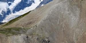 Wanderweg am Col du Galibier