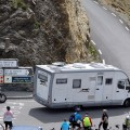 Wohnmobil am Col du Galibier